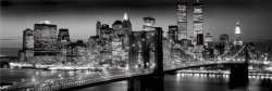 New York (Manhattan blackBerenholtz) - plakat