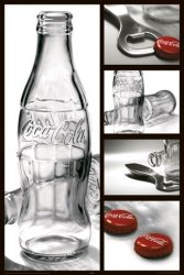 Coca-Cola - photography - plakat