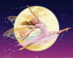 Wróżka (Księżyc) - plakat