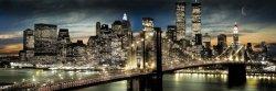 New York (Manhattannight&moon) - plakat