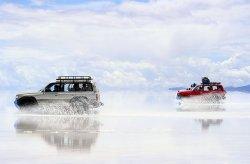 Fototapeta na ścianę - Boliwia, rajd po jeziorze - 175x115 cm