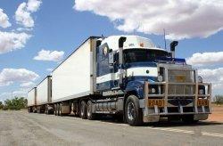 Fototapeta na ścianę - Drogowe Pociągi, Australia - 175x115 cm