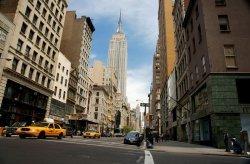 Fototapeta na ścianę - NYC Empire - 175x115 cm