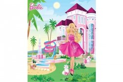 Tapeta -  Barbie Palace - 3D - Walltastic
