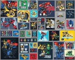 Fototapeta - Transformers Robots - 3D - Walltastic