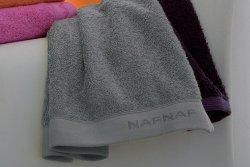 Ręcznik Kąpielowy - Siwy - 100% Bawełny - NAF NAF - 70x140 cm