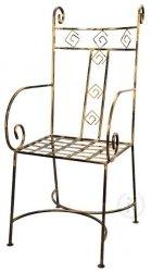 Krzesło metalowe - Retro - 8 Kolorów