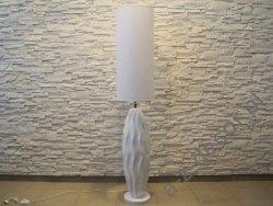 Lampa podłogowa - Biała - 30x150cm