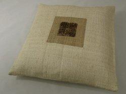 Poszewka na poduszkę - Dekoracyjna - Z rafii - 45x45cm