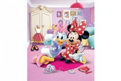 Tapeta - Minnie Mouse - 3D - Walltastic - 243,8x201,1cm