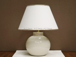 Lampa stołowa - BEAULIEU - 40x52cm