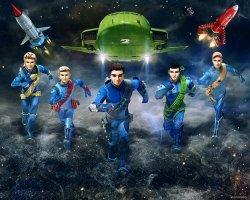 Fototapeta Thunderbirds Are Go! - 3D - Walltastic