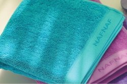 Ręcznik - Turkusowy - NAF NAF - 70x140 cm