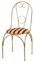 Krzesło metalowe - Retro - Dostępne w 8 Kolorach