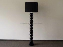 Lampa Podłogowa - Perła czarna 50x170cm