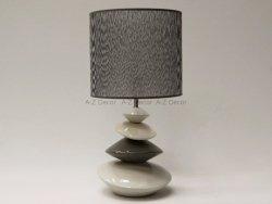 Lampka nocna - Szara - IZA - 28x55cm