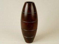 Wazon drewniany - Mango - 15x38cm