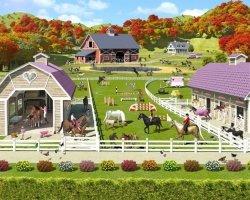 Fototapeta dla dzieci - 3D -  Horse and Pony