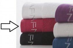 Ręcznik - Czerwony - NAF NAF - 30x50 cm - Diamonds