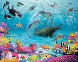 Fototapeta dla dzieci - Sea Adventure 2 - 3D - Walltastic - 243,8x304,8cm