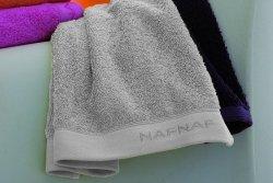 Ręcznik - Silver - NAF NAF - 50x100 cm - 100% Bawełny