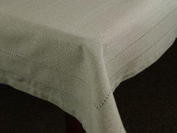 Obrus na stół - 140x180cm - Oliwka - 100% Bawełny