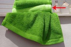 Ręcznik FROTTE - NAF NAF - Casual limon - 100% Bawełny