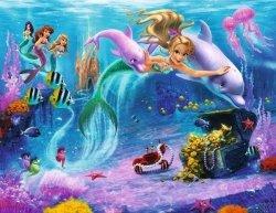 Fototapeta dla dzieci - Syrenki Disney - 3D - Walltastic