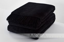 Koc - Kolor czarny - 150x200 cm