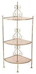Półka szklana - Narożna