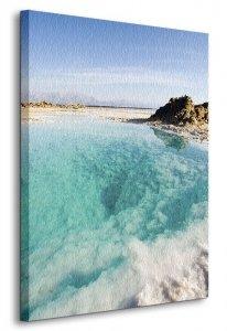 Morze Martwe - Obraz na płótnie