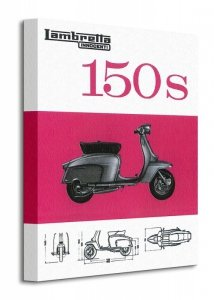Lambretta (150s) - Obraz na płótnie