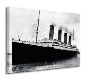 Titanic (B&W) - Obraz na płótnie