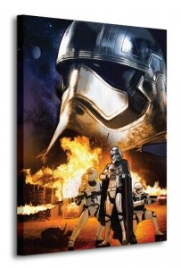 Star Wars Episode VII (Captain Phasma Art) - obraz na płótnie