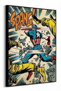 Captain America (Spang) - Obraz na płótnie