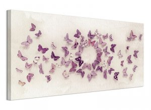 Obraz na płótnie - Motyle - Kaleidoscope of Butterflies - 100x50 cm