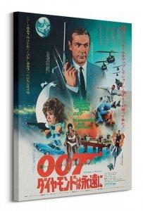 Obraz - James Bond (Diamonds are forever Foreign Language)
