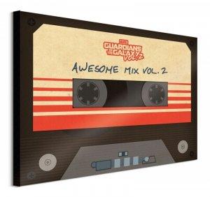 Obraz na płótnie - Guardians Of The Galaxy Vol. 2 (Awesome Mix Vol. 2)