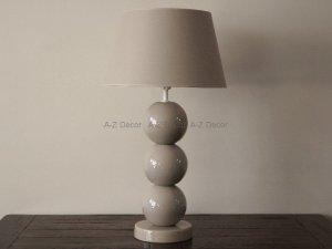 Lampa stołowa - Cappucino - PERLA III - 39x71cm