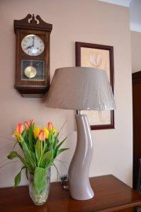 Lampa stołowa - Fala Beż - 48x84cm