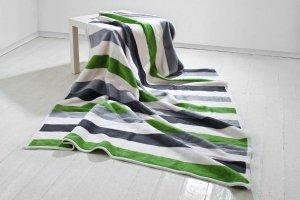Koc - 150x200cm - Stripes green