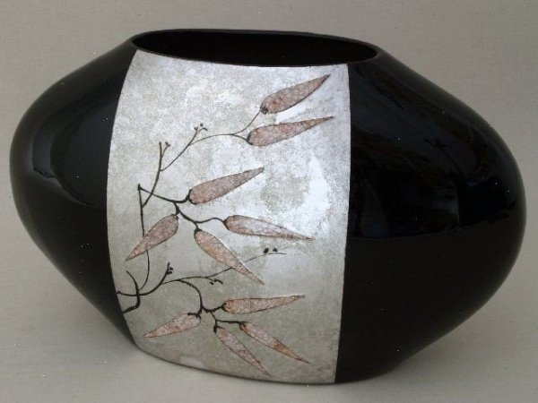Vaso in ceramica 21x21cm