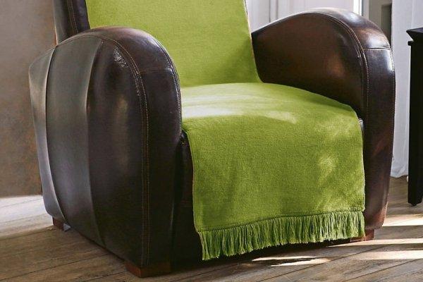 Narzuta na fotel - Oliwka - 100x200 cm