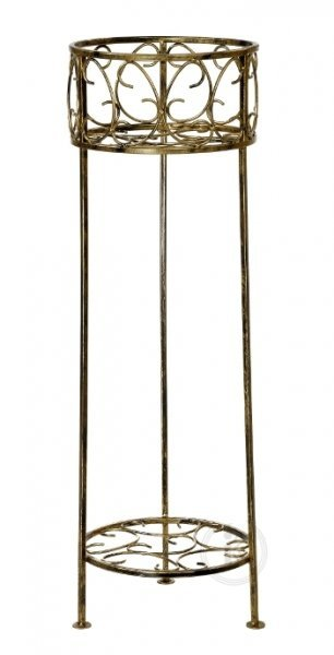 Kwietnik Metalowy - Stojak na kwiaty - KD
