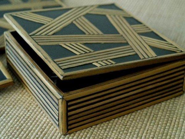 Podstawki - 11x11cm - 6szt. + pudełko