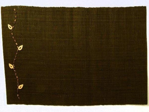 Podkładki na stół - Mleczna czekolada - Z raffi - 33x48cm