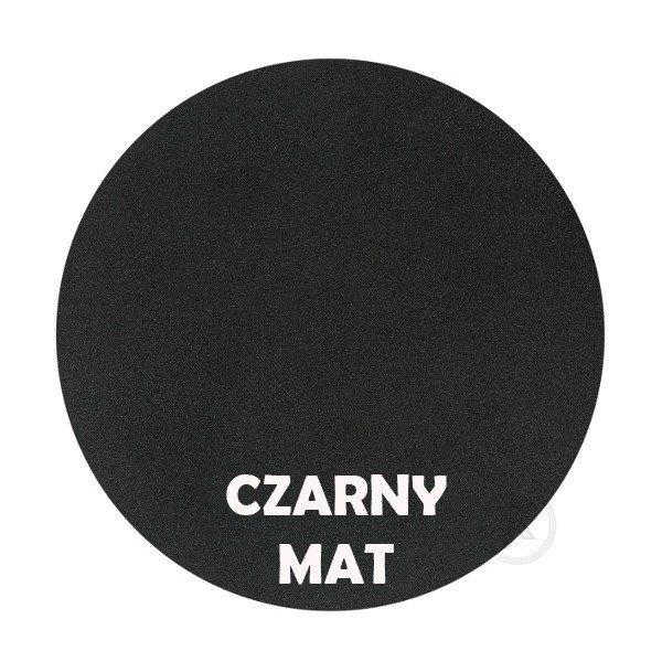Czarny mat - Kolor kwietnika - Na 3 Doniczki Wąsy - DecoArt24.pl