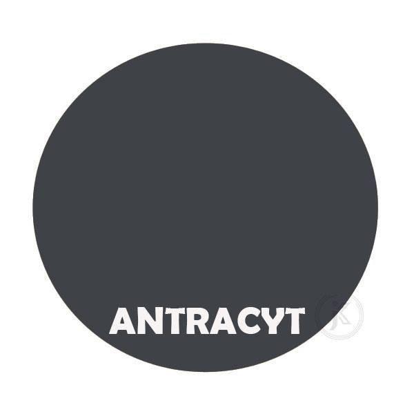 Antracyt - kolor kwietnika - 2-ka zdobiona - DecoArt24.pl