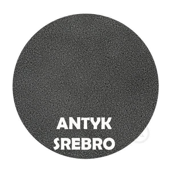 Kwietnik Laska - Kolor antyk srebro -DecoArt24.pl