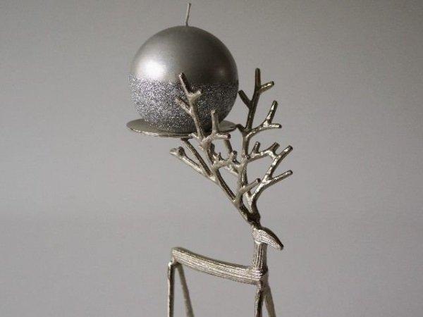 Świecznik - Renifer - 12x9x32cm